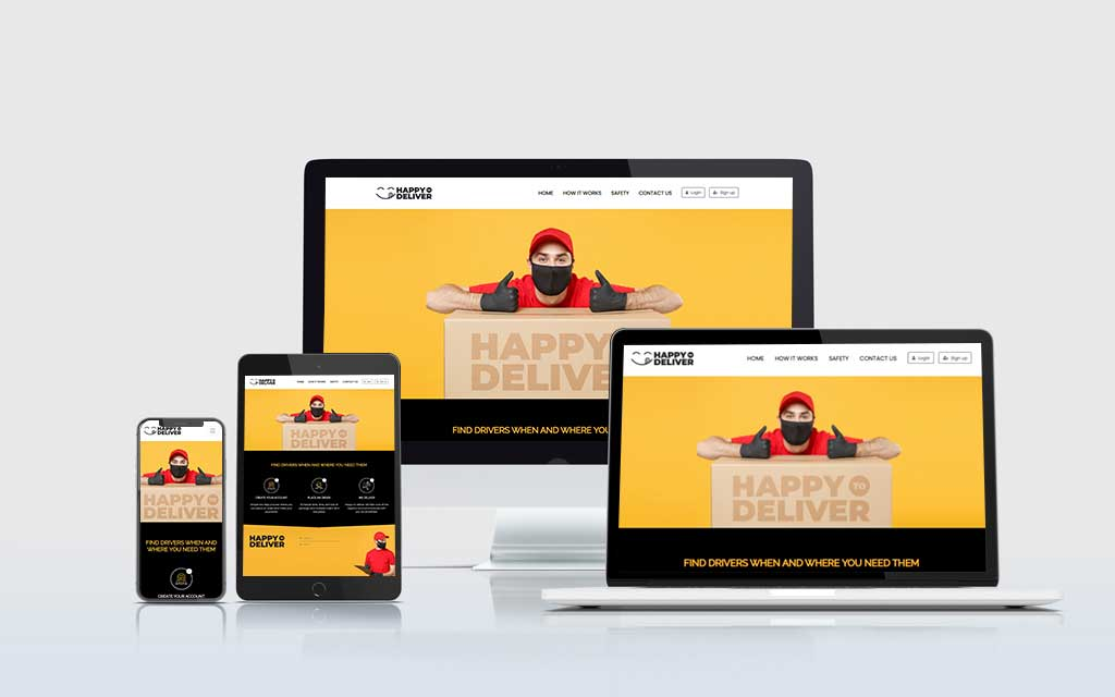 Happy to Deliver Website and Aap
